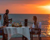 Zanzi resort - večera na móle